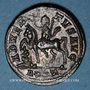 Coins Probus (276-282). Antoninien. Rome, 7e officine, 278-280. R/: Probus en habit militaire à cheval
