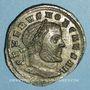 Coins Sévère II, césar (305-306). Follis. Ticinum, 3e officine. 305-306. R/: Mars