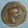 Coins Tibère (14-37). As frappé sous Auguste. Lyon, 13