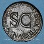 Coins Tibère (14-37). As frappé sous Auguste. Rome, 10-11