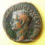 Coins Tibère (14-37). As. Rome, 22-23. R/: PONTIF.MAXIM.TRIBVN.POTEST.XXIIII autour de SC