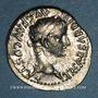Coins Tibère (14-37). Denier. Lyon, 30. R/: la Justice assise