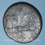 Coins Tibère (14-37). Sesterce. Rome, vers 36-37. Contremarqué : NCAPR sous Néron