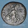 Coins Trajan (98-117). As. Rome, 100. R/: Victoire marchant à gauche