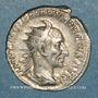 Coins Trajan Dèce (249-251). Antoninien. Rome, 250. R/: Victoire