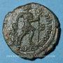Coins Valens (364-378). Centénionalis. Aquilée, 2e officine, 364-367. R/: l'empereur tenant le labarum