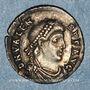 Coins Valens (364-378). Silique. Trèves, 367-375. R/: Rome