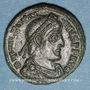 Coins Valentinien I (364-375). Centénionalis. Siscia, 2e officine, 367-375. R/: Valentinien