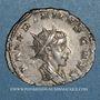 Coins Valérien II, césar (256-258). Antoninien. Cologne, 257-258. R/: Jupiter enfant