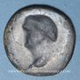 Coins Vespasien (69-79). As. Revers incus