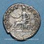 Coins Vespasien (69-79). Denier. Rome, 76. R/: la Paix