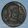 Coins Vétranion (350). Maiorina. Siscia, 3e officine, 350. R/: Vétranion