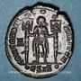 Coins Vétranion (350). Maiorina. Siscia, 5e officine, 350. R/: Vétranion en habit militaire