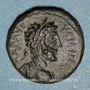 Coins Commode (177-192). Bronze. Neapolis (Samarie). R/: Tyché en habit militaire