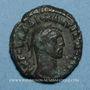 Coins Dioclétien (284-305). Tétradrachme. Alexandrie an 3 (286-287). R/: Tyché
