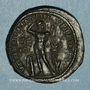 Coins Gordien III (238-244). 5 assaria. Marcianopolis (Moésie inférieure).  R/: Apollon