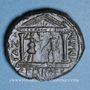 Coins Hadrien (117-138). Bronze. Gaza (Judée) an 4 de la visite 193 = 132/3AD.