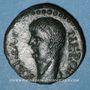 Coins Néron (54-68). Bronze. Macédoine. R/: bouclier mécédonien