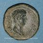 Coins Néron, césar sous Claude (50-54). Bronze. Thyatire (Lydie)