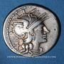 Coins République romaine. Aurelius Rufus (vers 144 av. J-C). Denier