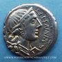 Coins République romaine. C. Annius T.f. T.n.(vers 82-81 av. J-C) & C. Tarquitius P.f. Denier