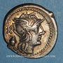 Coins République romaine. C. Cassius (vers 126 av. J-C). Denier