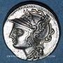 Coins République romaine. C. Coelius Caldus (vers 104 av. J-C). Denier