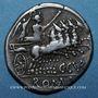 Coins République romaine. C. Curiatius Trigeminus (vers 142 av. J-C). Denier
