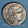 Coins République romaine. C. Maianius (vers 153 av. J-C). Denier