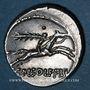 Coins République romaine. C. Piso L. f. Frugi (vers 67 av. J-C). Denier