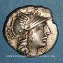Coins République romaine. Cn. Lucretius Trio (vers 136 av. J-C). Denier