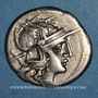 Coins République romaine. Furius Purpurio (vers 169-158 av. J-C). Denier