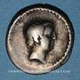 Coins République romaine. L. Livineius Régulus (vers 42 av. J-C). Denier