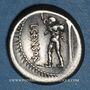 Coins République romaine. L. Marcius Censorinus (vers 82 av. J-C). Denier