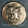 Coins République romaine. L. Sempronius Pitio (vers 148 av. J-C). Denier