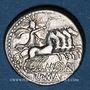 Coins République romaine. M. Aburius M. f. Geminus (vers 132 av. J-C). Denier