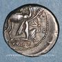 Coins République romaine. M. Aemilius Scaurus et Pub. Plautius Hypsaeus (vers 58 av. J-C).  Denier