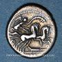 Coins République romaine. M. Cipius M.f. (vers 115-114 av. J-C). Denier