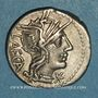 Coins République romaine. M. Porcius Laeca (vers 125 av. J-C). Denier