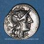 Coins République romaine. M. Vargunteius (vers 130 av. J-C). Denier