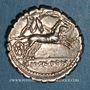 Coins République romaine. Magistrats de Narbonne (vers 118 av. J-C). Denier dentelé