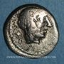 Coins République romaine. Marcus Porcius Cato (vers 89 av. J-C). Quinaire