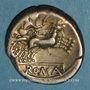 Coins République romaine. Monnayage anonyme (vers 157-155 av. J-C). Denier