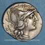 Coins République romaine. P. Aelius Paetus (vers 138 av. J-C). Denier