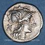 Coins République romaine. P. Maenius Antiaticus (vers 132 av. J-C). Denier