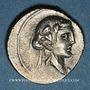 Coins République romaine. Q. Titius (vers 90 av. J-C). Denier