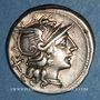 Coins République romaine. Spurius Afranius (vers 150 av. J-C). Denier