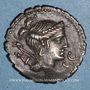 Coins Ti. Claudius Ti. f. Ap. n. Nero (vers 79 av. J-C). Denier dentelé