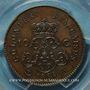 Coins Colonies Générales. Louis XVIII (1815-1824). 10 centimes 1824. Essai
