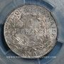 Coins Consulat (1799-1804). 1 franc an 12W Lille, 1er Consul. (PCGS MS 63)